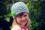 Autumn crochet hat free pattern