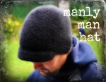 crochet man hat free pattern
