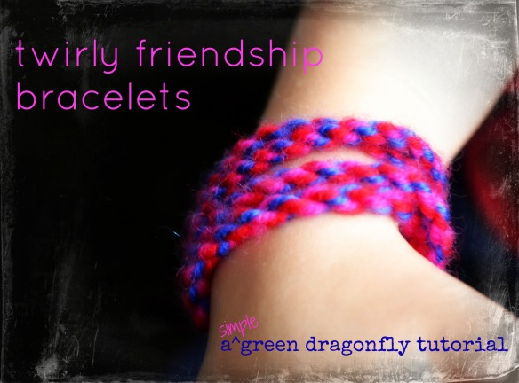 twirly friendship bracelets how to