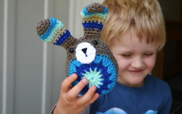 Crochet bunny free pattern 1