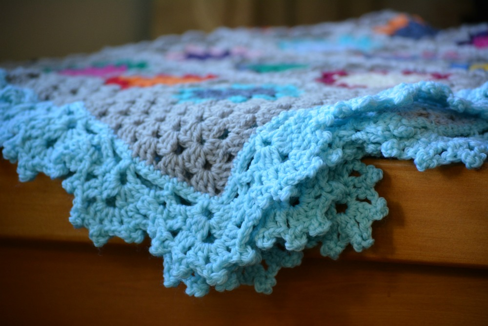 Crochet Edging : Pretty lacy crochet edging - The Green Dragonfly