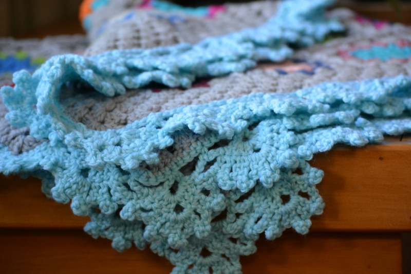 Crochet Edging : pretty lacy crochet edging