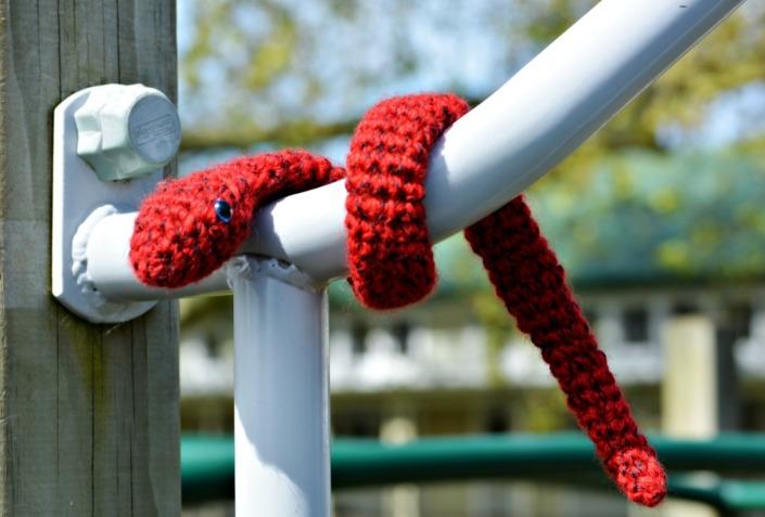 Crochet snake free pattern