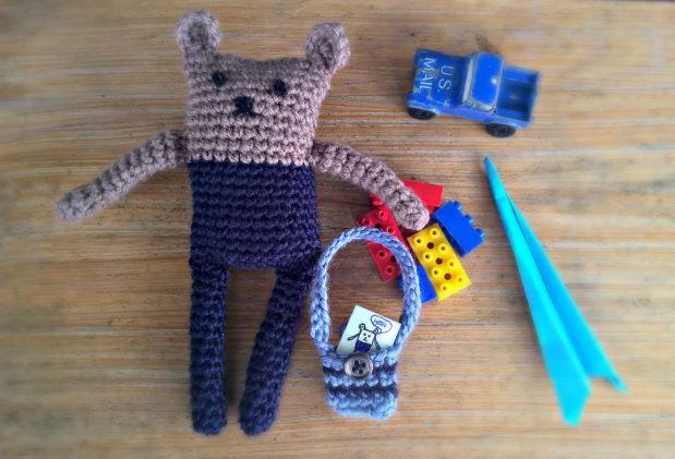 Crochet bear 7